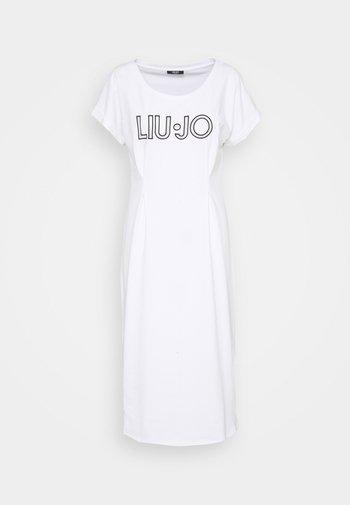 ABITO - Sukienka z dżerseju - bianco
