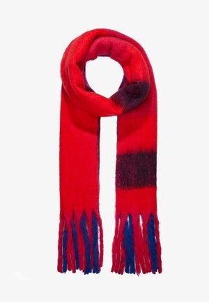 ONLAZOR HEAVY FRINGE SCARF - Schal - virtual pink/fiery red