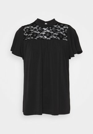 VMALBERTA HIGH NECK - Pusero - black