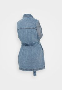 Pieces Maternity - PCMNAMIR - Liivi - medium blue denim - 1