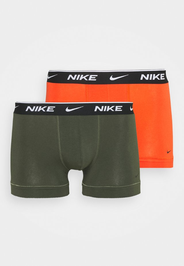 TRUNK STRETCH 2 PACK - Underbukse - team orange/cargo khaki/black