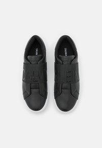 Calvin Klein Jeans - CUPSOLE ELASTIC - Trainers - black - 5