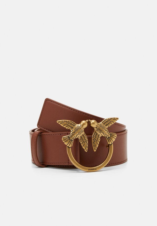 BERRY SIMPLY BELT - Bælter - brown