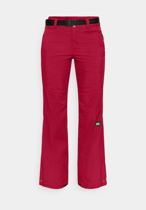 STAR PANTS - Snow pants - rio red