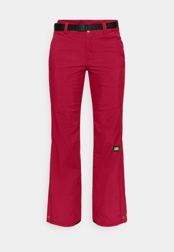 STAR PANTS - Ski- & snowboardbukser - rio red