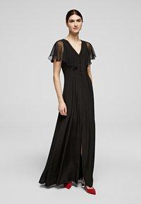 KARL LAGERFELD - Maxi dress - black - 0