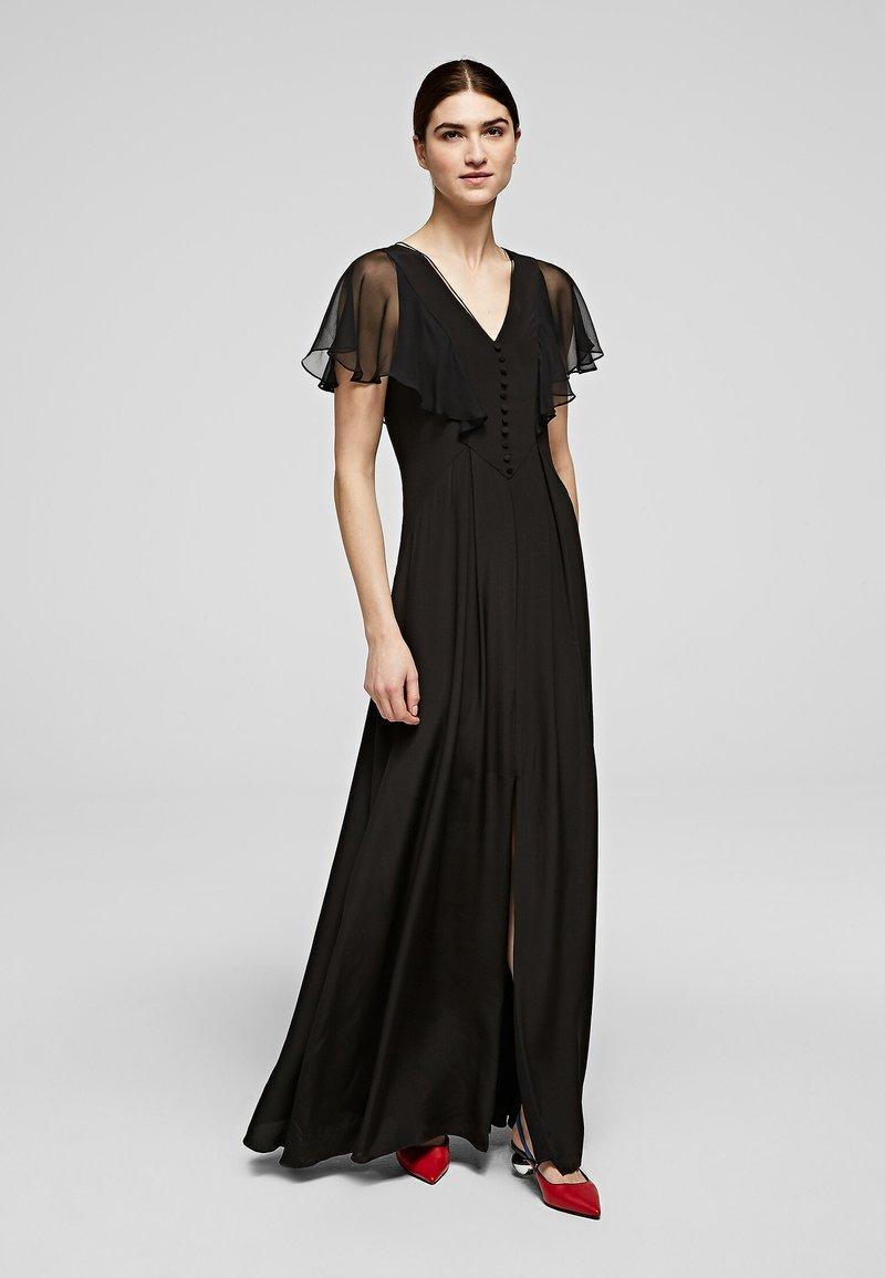 KARL LAGERFELD - Maxi dress - black