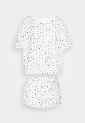 TOVA SET - Pyžamová sada - white pear