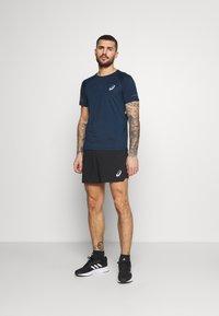 ASICS - VISIBILITY - Print T-shirt - french blue/smoke blue - 1