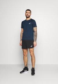 ASICS - VISIBILITY - Camiseta estampada - french blue/smoke blue - 1