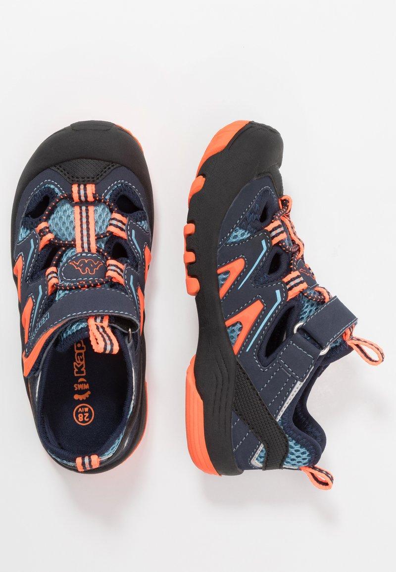 Kappa - REMINDER - Hiking shoes - navy/orange