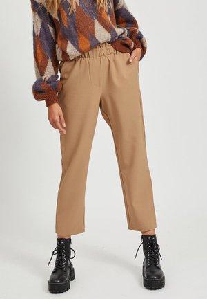 Trousers - dusty camel