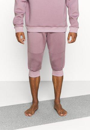 KNEE PANTS DIVIDING SEAMS - Pantalon 3/4 de sport - lavender