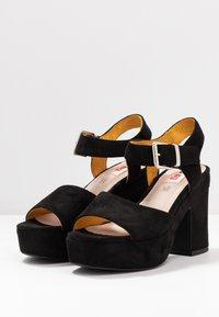 mtng - LEIRA - High heeled sandals - black - 4