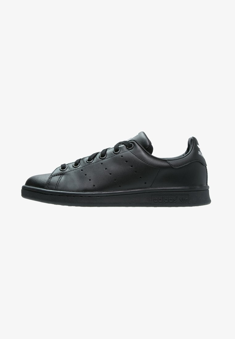 adidas Originals - STAN SMITH - Sneakers basse - black/white