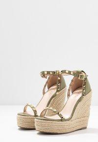 RAID - KORI - Sandaler med høye hæler - sage green - 4