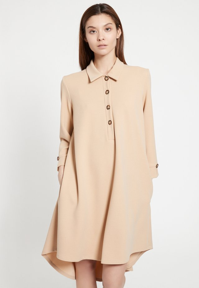 BASKY - Shirt dress - beige