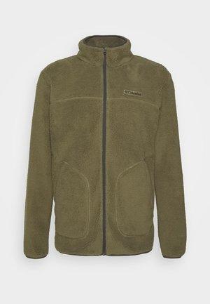 RUGGED RIDGEII - Fleece jacket - stone green/shark
