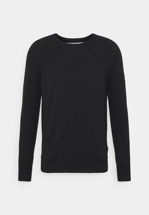 LYCRA FREE FIT - Stickad tröja - black