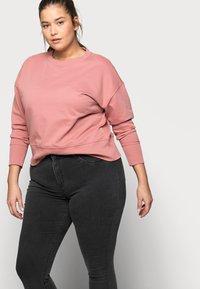 Noisy May Curve - Jeans Skinny Fit - dark grey denim - 3