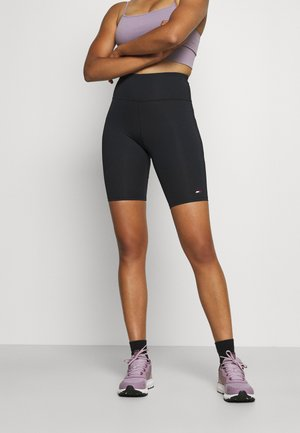 FITTED SHORT - Tights - black