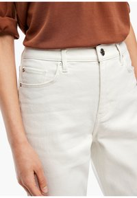 s.Oliver - Straight leg jeans - beige - 3
