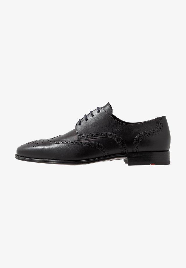 MORTON - Zapatos con cordones - schwarz