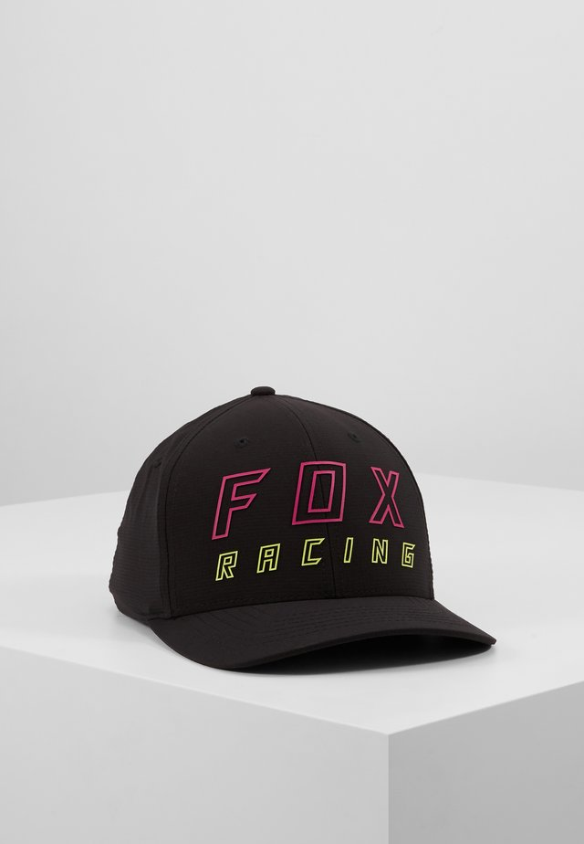 NEON MOTH FLEXFIT HAT - Lippalakki - black