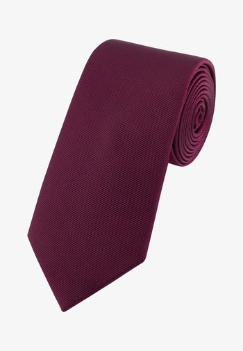 BURGUNDY WIDE  - Tie - berry
