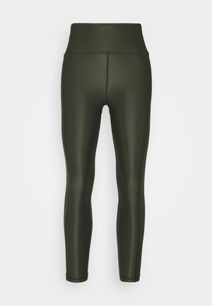 HIGH SHINE 7/8 WORKOUT - Leggings - dark forest green