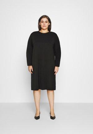 CARVIOL DRESS - Jersey dress - black