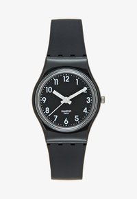 Swatch - LADY BLACK SINGLE - Zegarek - black - 1