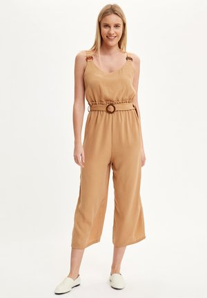 Tuta jumpsuit - brown