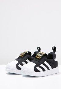 adidas Originals - SUPERSTAR 360  - Scarpe senza lacci - core black/white - 2