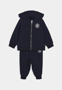 Converse - CREATURE HOODIE SET - Zip-up hoodie - obsidian - 0