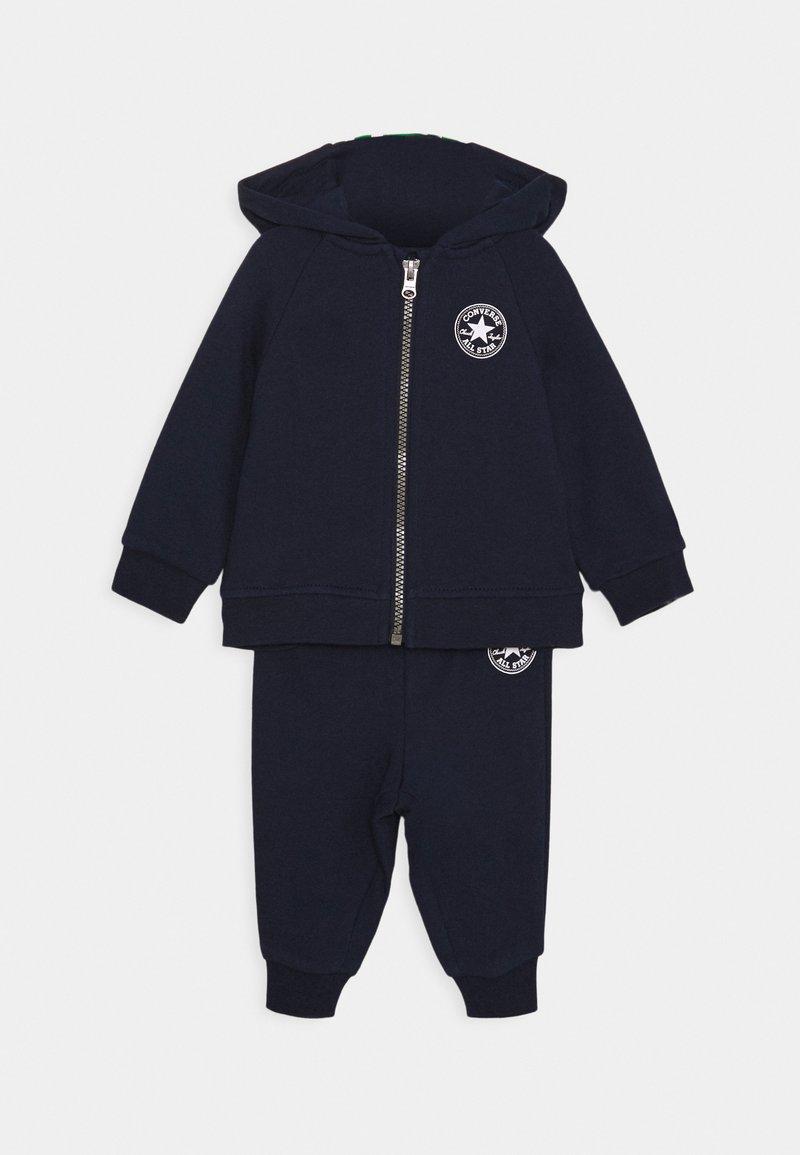 Converse - CREATURE HOODIE SET - Zip-up hoodie - obsidian