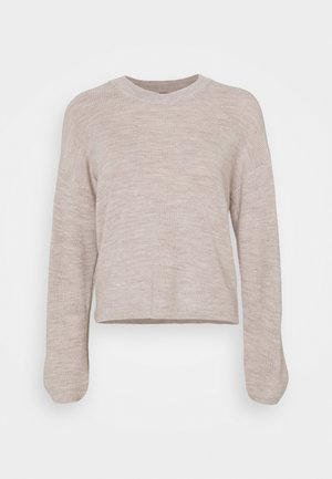 MARNY - Jumper - light beige