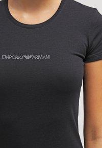 Emporio Armani - ESSENTIAL - Pyjama top - nero - 3