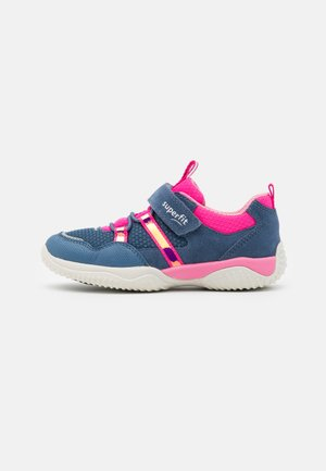 STORM - Touch-strap shoes - blau/rosa
