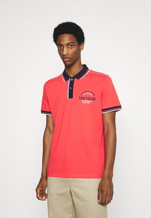 DECORATED - Polo shirt - plain red