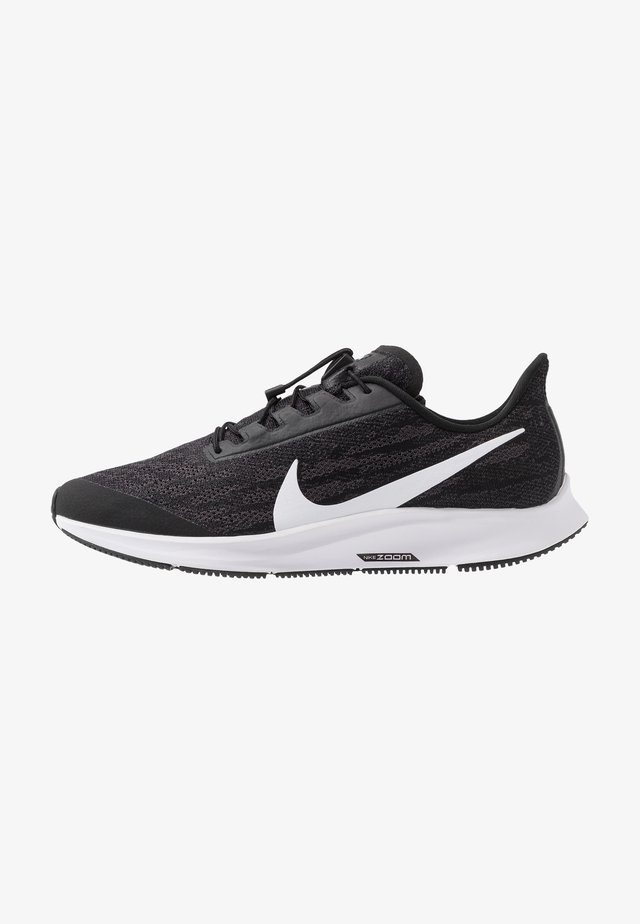 AIR ZOOM PEGASUS 36 FLYEASE - Neutral running shoes - black/white/thunder grey