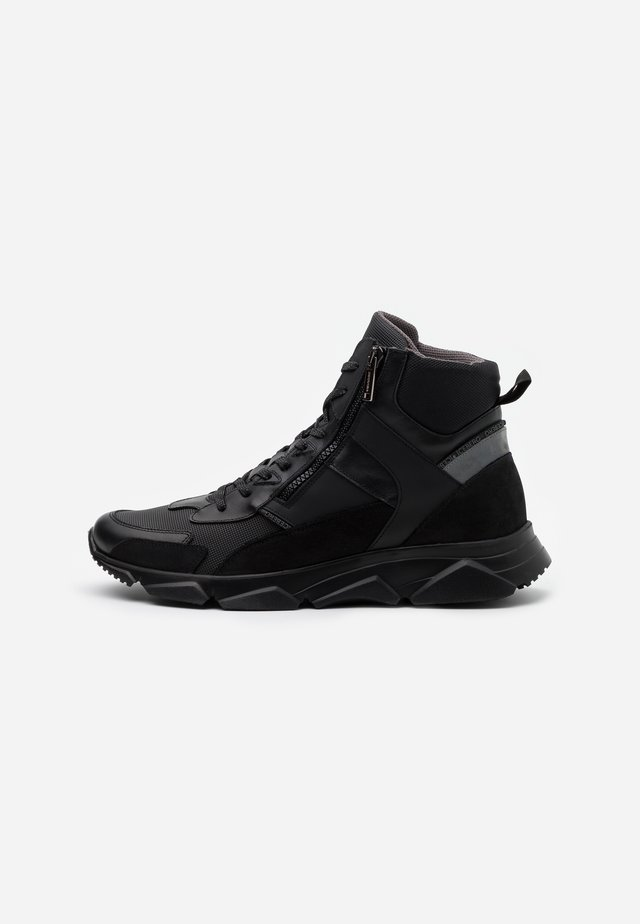 CITY RUN - High-top trainers - midi black