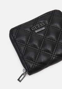 Guess - CESSILY SMALL ZIP AROUND - Peněženka - black - 3