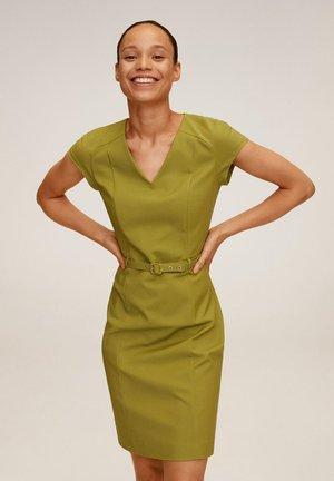 COFI7-N - Sukienka letnia - olivengrün