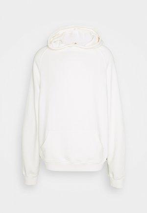 HEAVYWEIGHT HOODED RAGLAN - Kapuzenpullover - off white