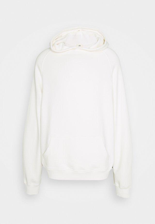 HEAVYWEIGHT HOODED RAGLAN - Sweat à capuche - off white