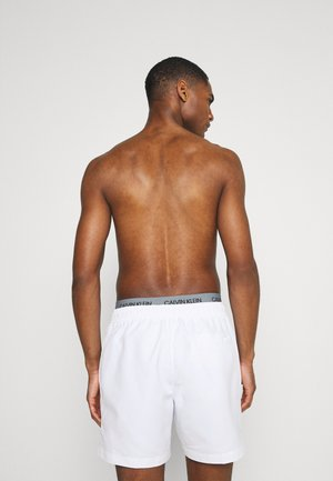 CORE SOLIDS DOUBLE  - Swimming shorts - classic white