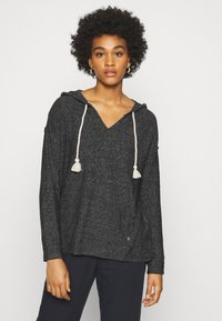 Roxy - LOVELY LIFE - Jersey con capucha - anthracite - 0