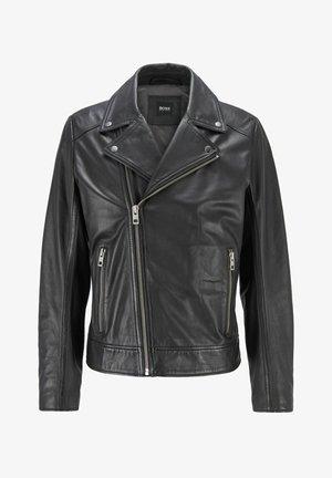 JABIN - Leather jacket - black
