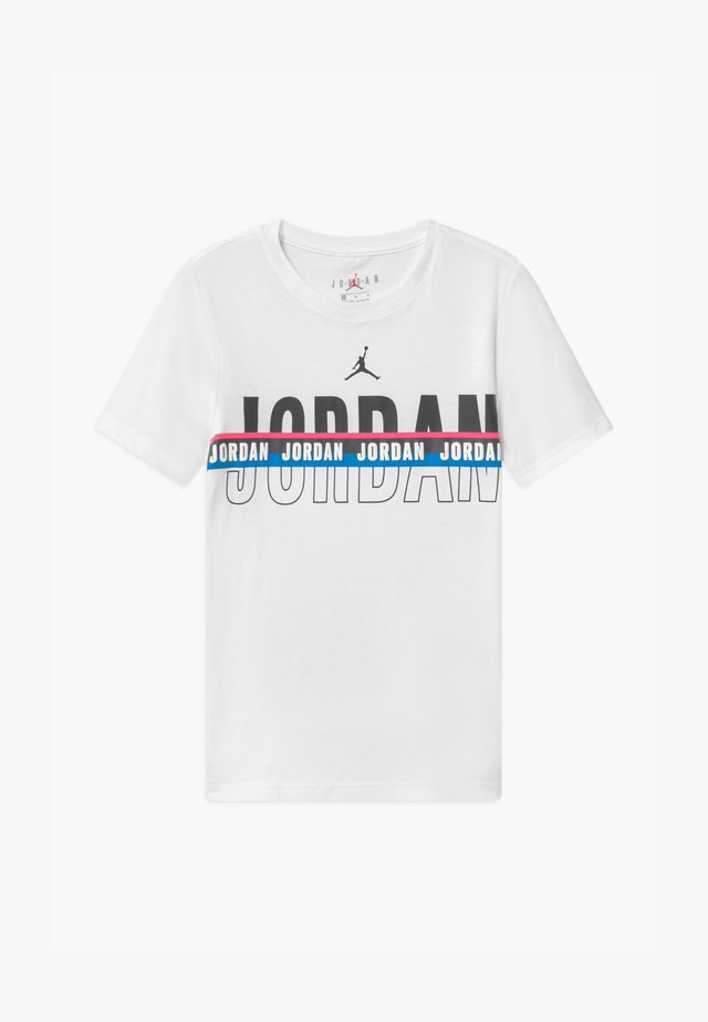 SPLIT DECISION - T-shirt z nadrukiem - white